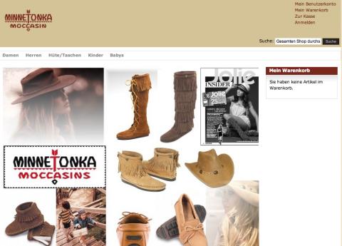 Produktvarianten: Für obiges Beispiel eines variantenreichen Produktes, sehen Sie hier eine übersichtliche und richtige Verarbeitung im Online Shop