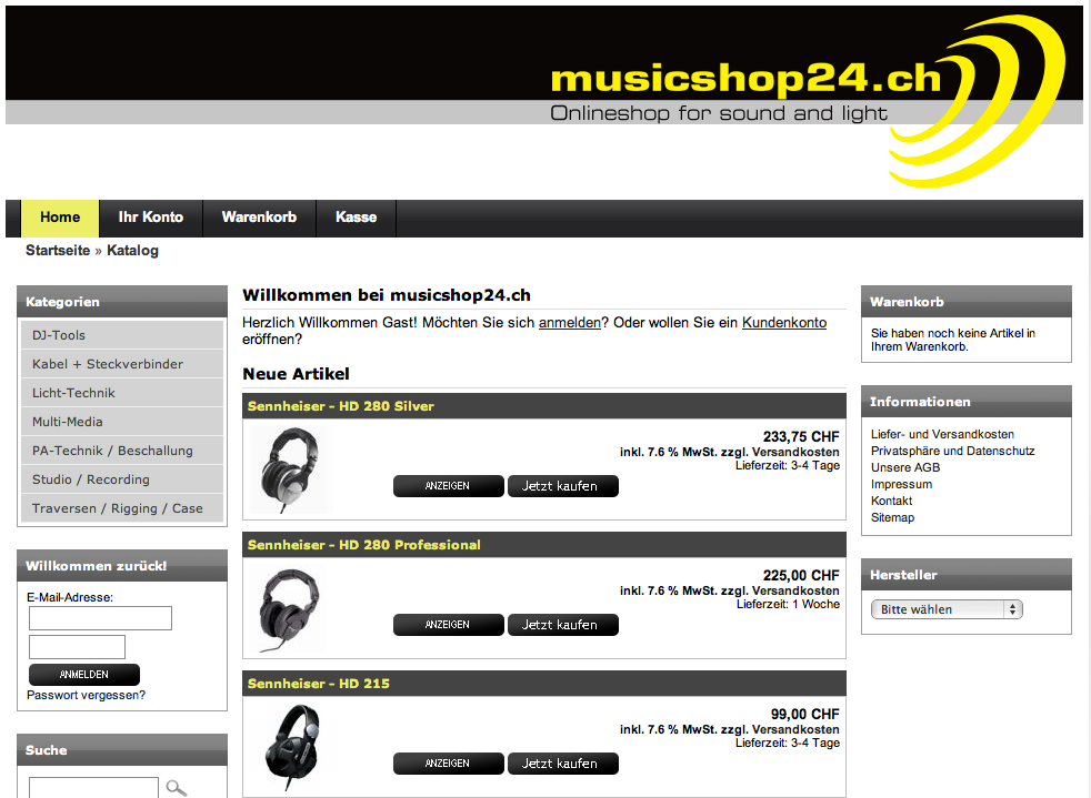 musicshop customweb gmbh zahlungsl sungen. Black Bedroom Furniture Sets. Home Design Ideas